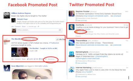 Ejemplos de in-feed ads