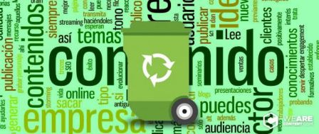 Reciclar contenido como parte del content marketing
