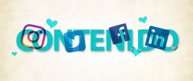 Contenido y las Redes sociales los mejores amigos