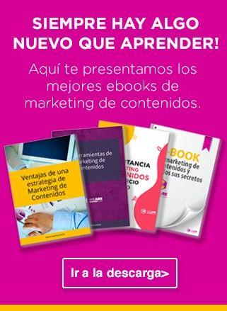 LOS MEJORES EBOOKS DE MARKETING DE CONTENIDOS