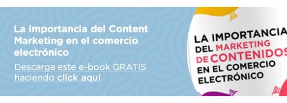 Marketing de contenidos en el comercio electrónico