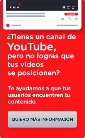 ¿Tienes un canal de youtube?